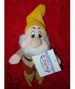 Disney Mini Bean Bag Sneezy Snow White Seven Dwarfs plush - $10.00