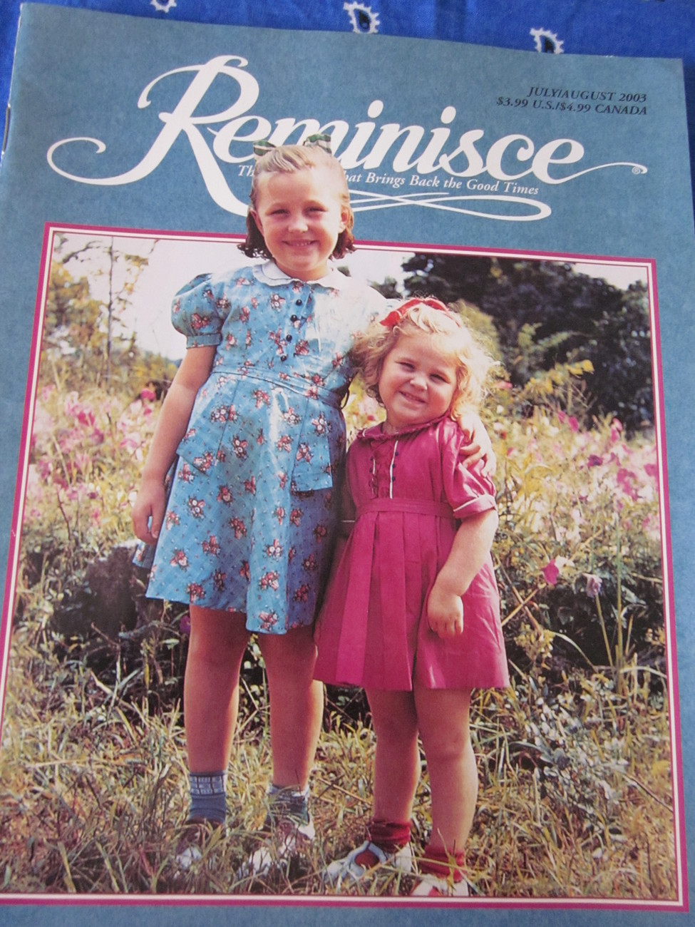 Reminisce Magazine Back Issue July / August 2003