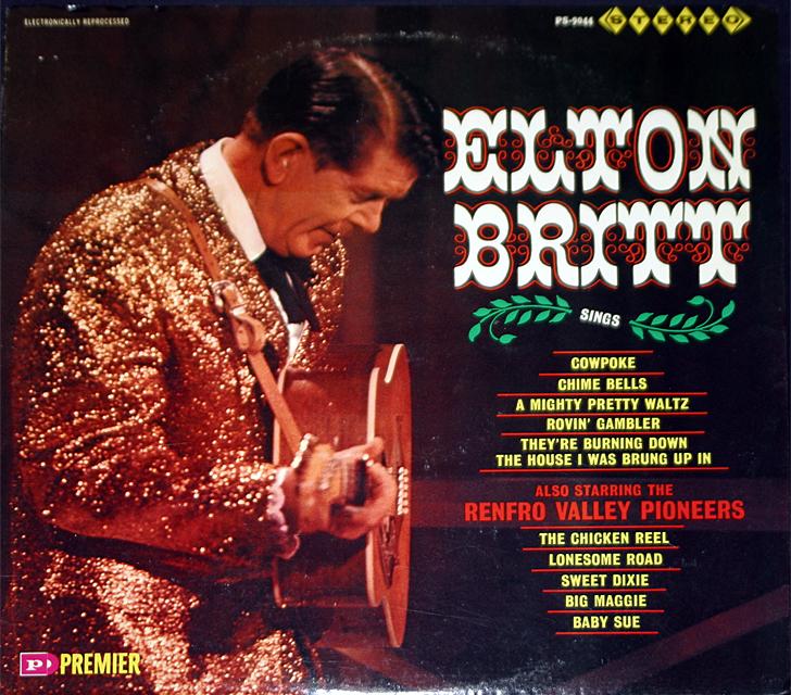 Elton britt sings cover