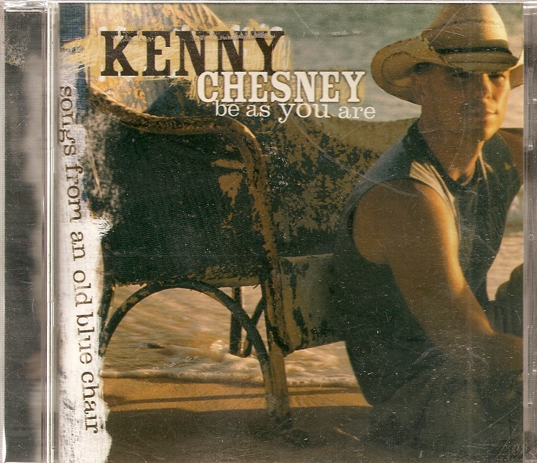 cd--Be as You Are (Songs from an Old Blue Chair) by Kenny Ch