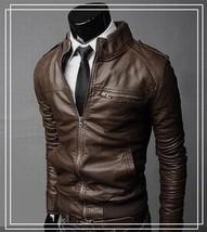 The Best Quality Uk Size XS-XL Men's Jacket Casual Stylish Slim Fit Zip ... - $51.30