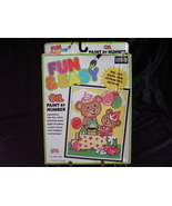 Paint By Numbers Kit NIB Party Time Bears Oil #... - $8.00
