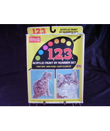 Paint By Numbers Kit NIB Kittens Cats #01232  B - $8.00