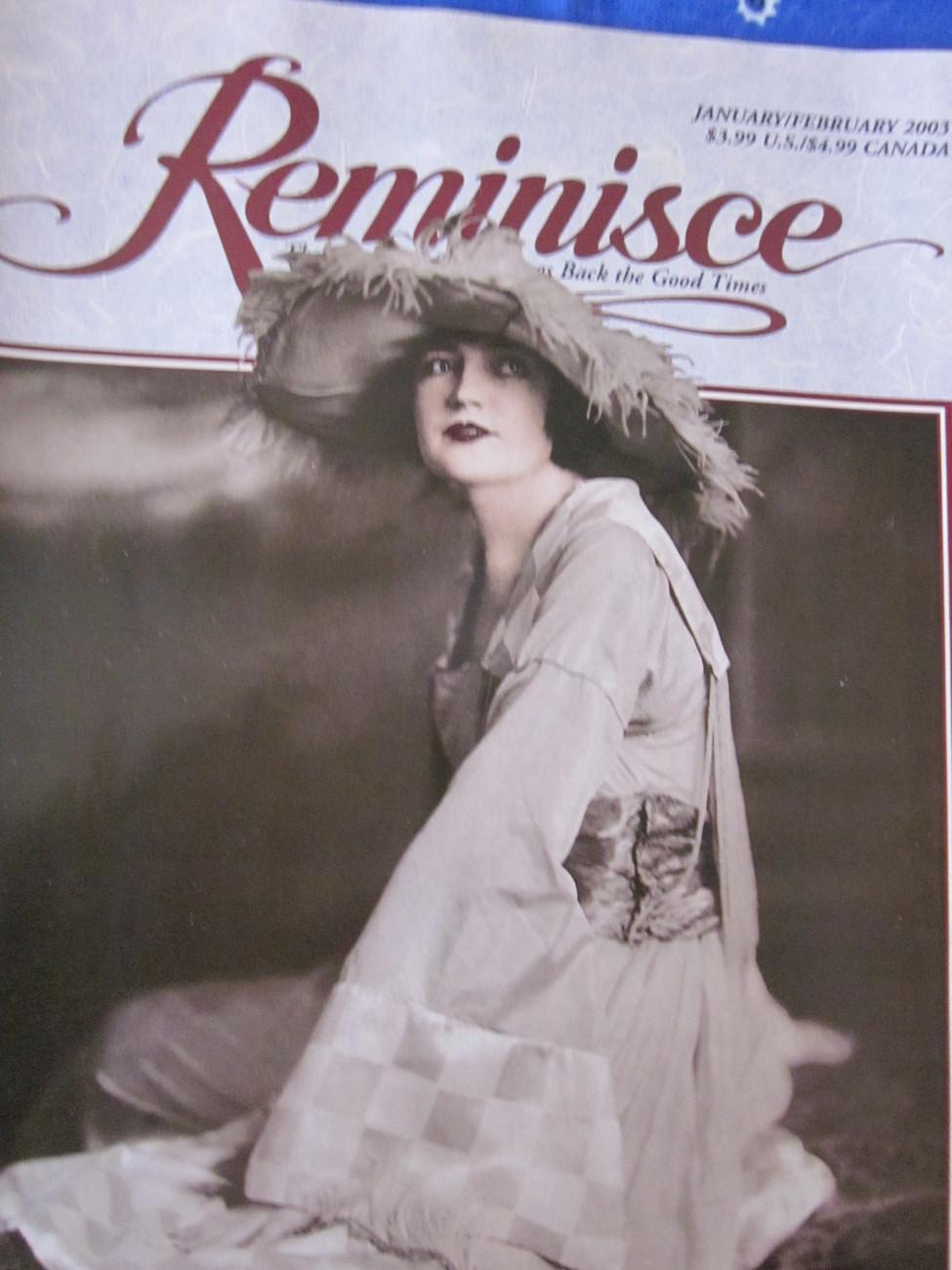 Reminisce Magazine Back Issue January / February 2003