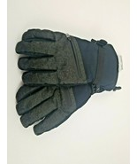 Men's Ski Gloves Water Proof Duo Dry Black Green M/L C9 Champion  - $14.75