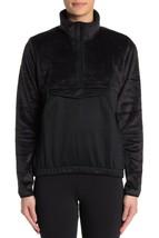 Adidas Sweatshirt Fleece Sherpa Detail 1/4 Zip Pullover Athletic Women S... - $38.00