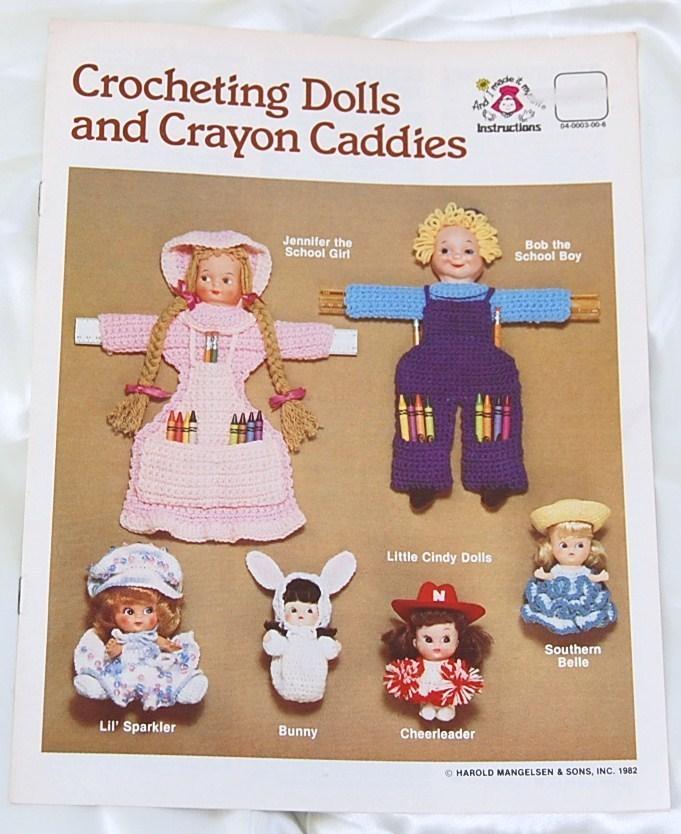 Crocheting Dolls and Crayon Caddies