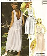 McCalls 4899 Vintage 90s Unused Womans Brides Maid Dress - $9.95