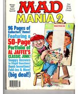 Mad Magazine   Mania 2  Winter 1989 Super Soecial - $2.95