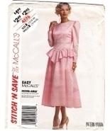 McCalls 4576 Vintage 80s Unused Womans Brides Maid Dress - $9.95