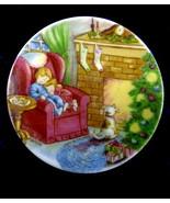 "Hallmark 1988 ""Waiting for Santa"" Plate Ornament in Box - $7.95"