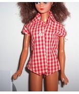 Vintage Barbie 1959 Picnic Set #967 Shirt  exc  - $10.00