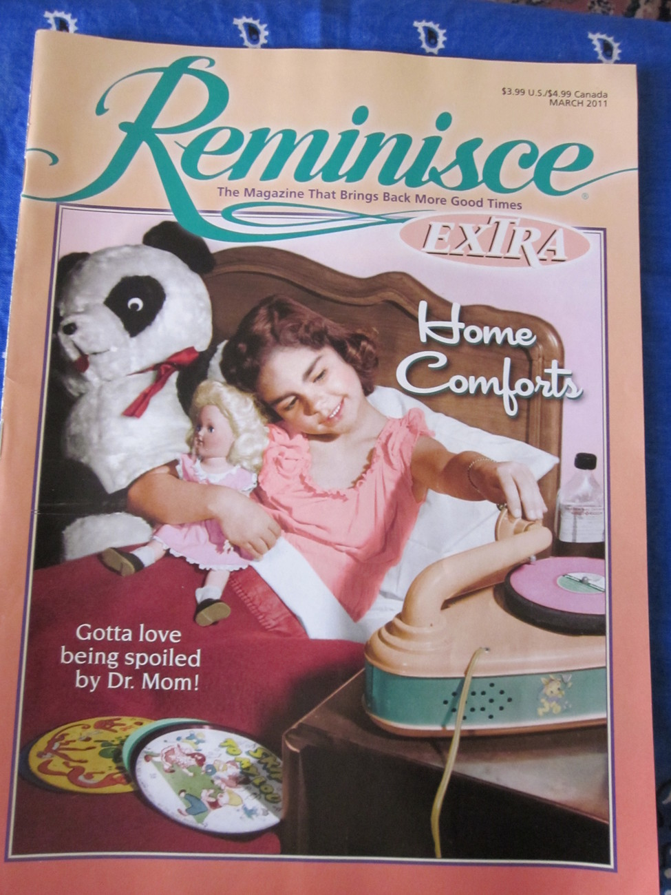 Reminisce Extra Magazine Back Issue March 2011