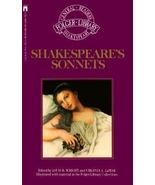 Shakespeare's Sonnets The New Folger Library Shakespeare - $10.00