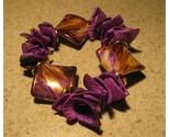 E 566 purple shell bracelet thumb155 crop