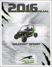 2016 Arctic Cat Wildcat Sport Service Repair Workshop Manual CD - $12.00