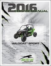 2016 Arctic Cat Wildcat Sport Service Repair Workshop Manual CD image 1