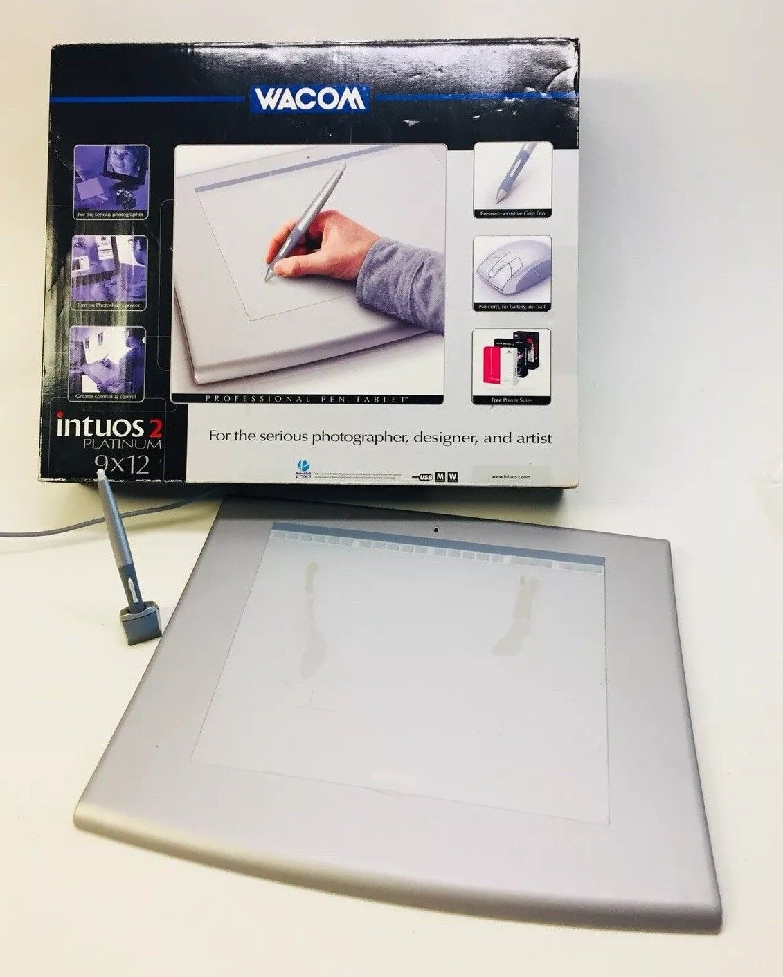 Wacom Mouse 1 Customer Review And 29 Listings Ctl 490 W0 Intuos Draw Fun Small White 2 Platinum 9x12 Usb Pen Tablet Set Used No Tested Works 3618