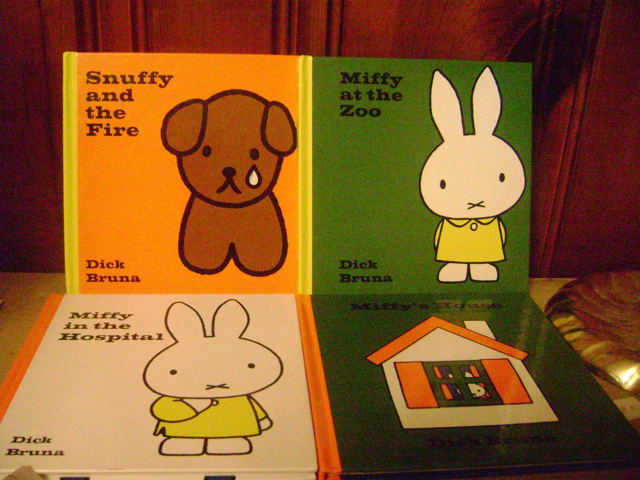 Primary image for Miffy & Snuffy Board Books  Set of 4