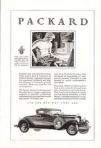 1928 Packard Outstanding Leadership Fine Car print ad - $10.00