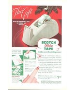 1941 Scotch Cellulose Tape magazine promo print ad - $10.00