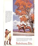 1941 Kodachrome Film Eastman home movie film print ad - $10.00