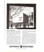 1941 General Electric Industrial services wharves print ad - $10.00