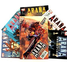Arana The Heart of the Spider Comic Book Lot 6 Issues Marvel VF NM 1 5 6 7 8 12 - $9.85