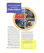 1948 Southern California America 4 season vacation ad - $10.00