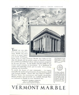 1930 Vermont Marble Bridgeport Savings Bank Print Ad - $10.00
