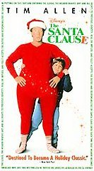 Primary image for The Santa Clause VHS, 1998, Comedy, Rating G, Tim Allen, Free Shipping U.S.A.