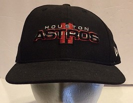 Houston Astros 59 Fifty New Era Fitted Hat Cap Low Profile 7 1/2 Basebal... - $20.56