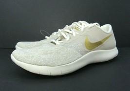 Nike Flex Contact Women Running Shoes 11 (AV8369 200) Metallic Gold-Phantom - $54.40