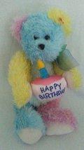Ty The Attic Treasures Happy Birthday Bear Rainbow 2000 Rare - $19.99