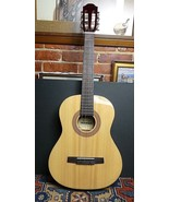 Hohner HC03 Handcrafted Acoustic Guitar 3/4 Size PERFECT! - $148.01