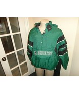 Vintage 90's Green Sewn Starter Michigan State Spartans Puffer Parka NCA... - $103.94