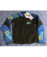 Wet Suit Top Tigershark Shark Wear by Arctic Cat - Large (L) Woman - New... - $31.18