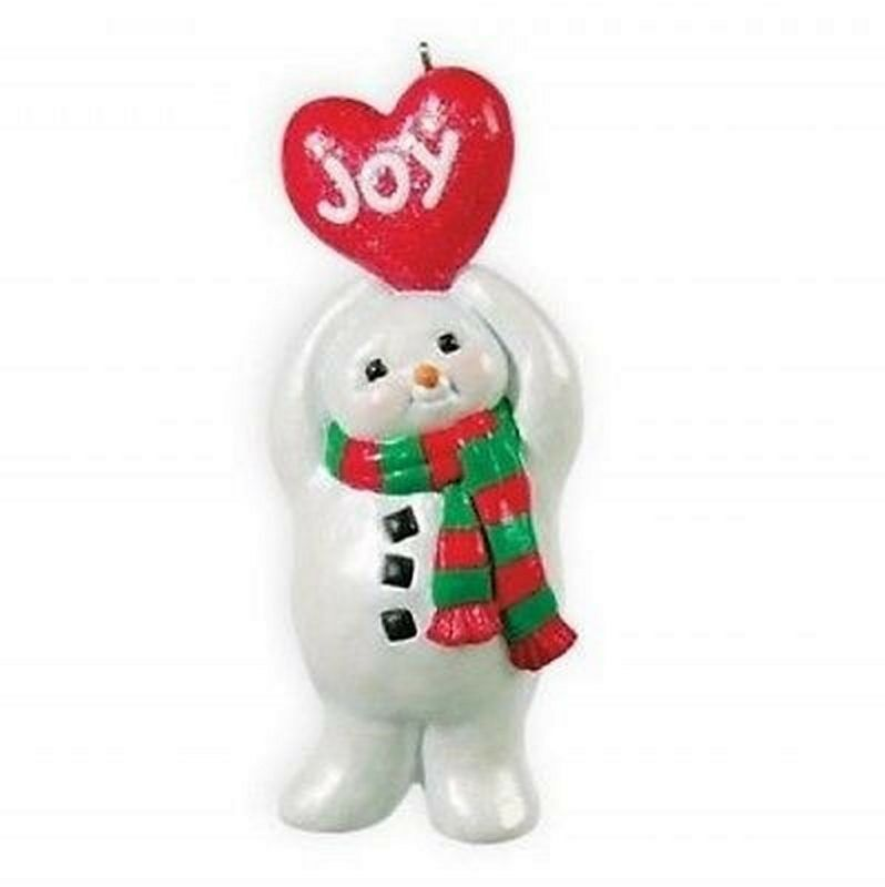 Primary image for 2013 Hallmark Limited Edition Joy in the Air Snowman Ornament, Heart, FREE S&H