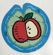 Fisher Price Turtle Picnic Matching Game Replacement Lily Pad Apple Card Pc 1998 - $5.98