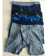 Hanes Boys 3 Pack Boxer Briefs - Size Large (10-12) Blue  New No Packaging - $5.89