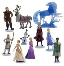 Frozen II Deluxe Figure Play Set 10 Pieces Disney Christmas Xmas Gift  B... - $29.69