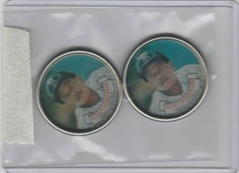 1987 Topps Coins Yankees Rickey Henderson Lot of 2 - $1.80