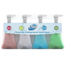 Dial Complete Foaming Antibacterial Hand Wash Soap (7.5 fl oz, 4 pk) - $19.65