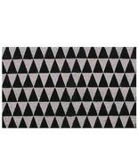 "Northlight Black Pale Pink Triangle Print Coir Outdoor Door Mat 29.5"" x ... - $18.50"