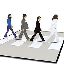 Lovepop The Beatles Abbey Road Pop Up Card - $17.71