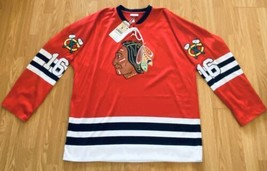 Mitchell & Ness Authentic 1960 Bobby Hull Chicago Blackhawks Jersey Size 52 Rare - $197.99
