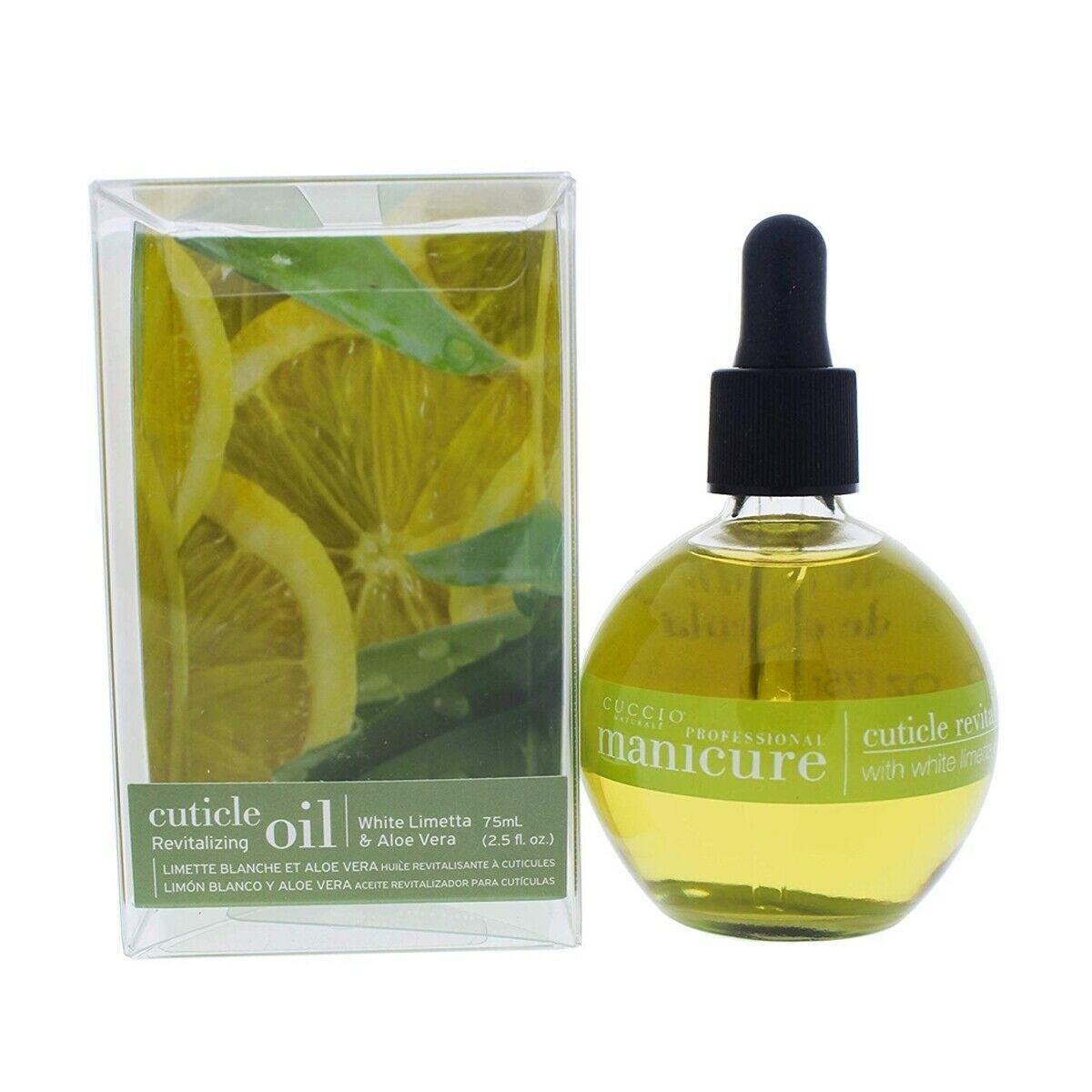 Cuccio Cuticle Oil Manicure White Limetta & Aloe Vera Revitalizing 73ml (2.5oz)