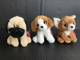 Russ Yomiko Classics Puppies Set Of 3- Pug, Beagle & Chihuahua Bag Clips NEW -OG - $19.99