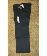 Dickies Boys Navy School Uniform 12H Flexwaist Relaxed Fit Double Knee 3... - $14.80