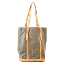 LOUIS VUITTON Monogram Bucket GM Shoulder Bag M42236 LV Auth ar1895 **St... - $210.00